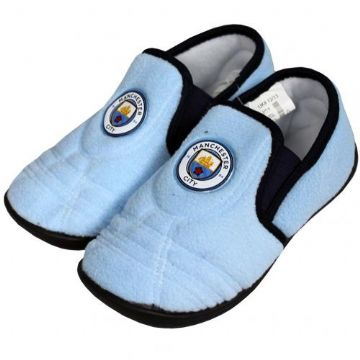 Manchester City Junior Slippers - Size 12/13